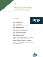 Programme ENM