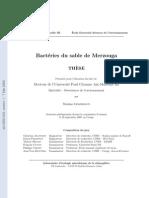 Thèse Bactéries du sable de Merzouga