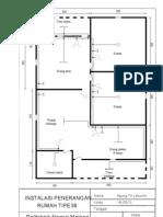 Rumah Tipe 36 Diagram Tunggal