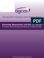 1.Agcas University Researchers and the Job Market