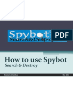 Download spybot - search & destroy to protect your privacy and computer system from spyware