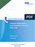 Gorka_2010_Hydrogen Passivation of Poly-Si Thin Film Solar Cells