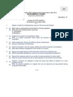 R7210403 Environment Studies