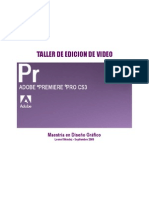 Manual Adobe Premiere Cs3