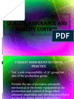 Quality Assurance and Quality Control-final