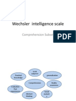 Wechsler Scale for Intelligence
