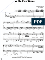 Doors Love Me Two Times Sheet Music 1