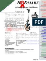 Fisa Tehnica - Roata de Masura Digital