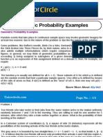 Geometric Probability Examples