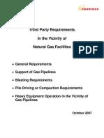 Enbridge--Vibration Assesment for Gas Pipeline