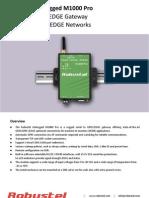 Robustel M1000 PRO GPRS Modem