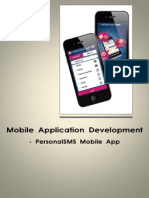 Mobile Application Development - Personal Sms App