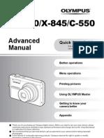 Manual Olympus X-845