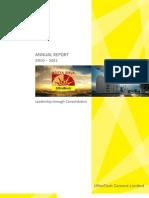 UltraTech Annual Report10-11