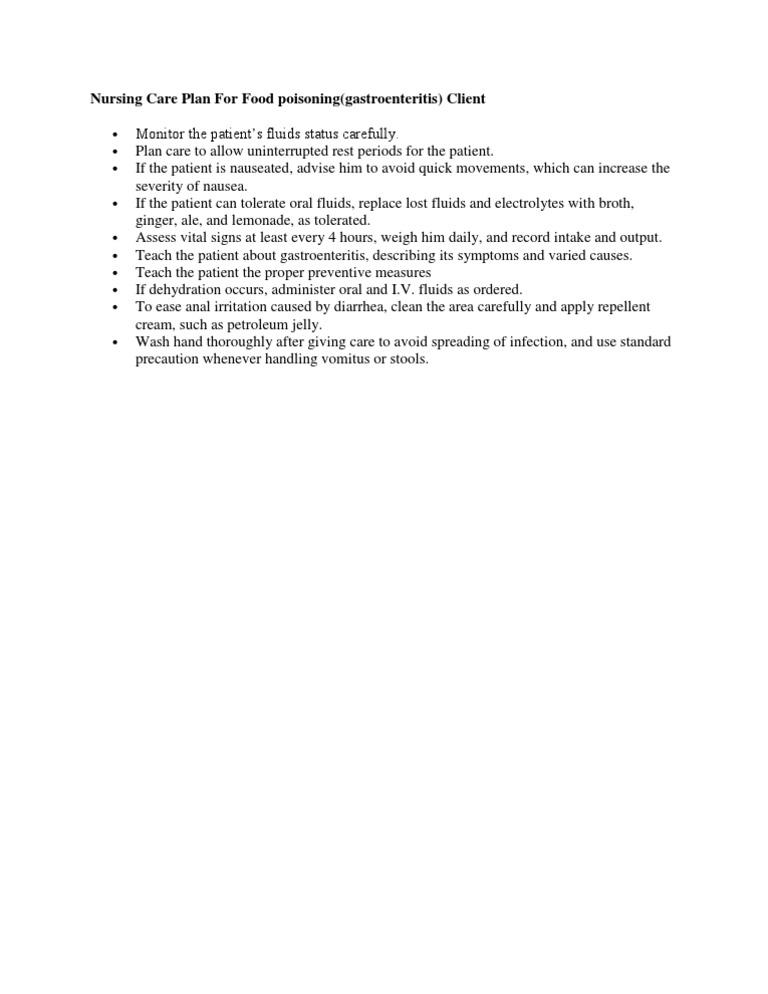Nursing care plan child with gastroenteritis | Coursework Sample