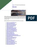Nama-nama Situs Download Film Gratis