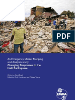 An Emergency Market Mapping and Analysis Case Study