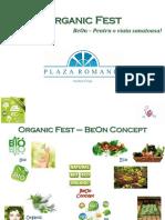 Pre Zen Tare Organic Fest - Plaza Mall 2012