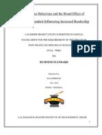 Raj Shekhar, Final Internship Report