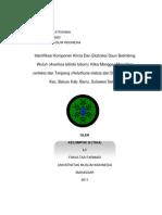 Laporan Lengkap Fitokimia Kel. III