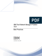 IBM Tivoli Network Manager IP Edition 3.9 Best Practices v1.0