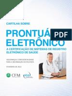 Cartilha SBIS CFM Prontuario Eletronico Fev 2012