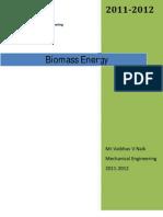 Module No 6a.biomass Energy