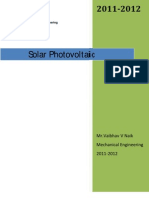Solar Photo Voltaic