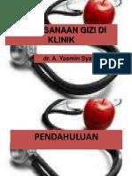 Pelaksanaan Gizi Di Klinik