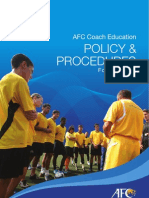 Afc Ce Policy
