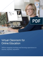 WizIQ Virtual Classroom Solution Mar2012