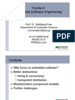 01 Trends in Embedded Software Engineering