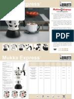 Bialetti Mukka Express Brochure