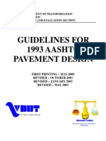 Guidelines for Pavement Design