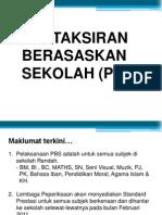 Pelaporan PBS