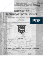 Hist Techn Intelligence SW Pacific