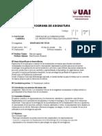 UAI - Seminario de Tesis - Programa 2015 - Bertone