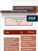 Ethics in Resuscitation