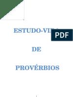 + ESTUDO VIDA DE PROVÉRBIOS