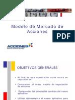 Modelo Mercado de Acciones