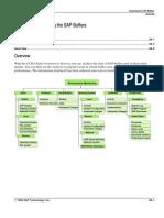 Analyzing the SAP Buffers