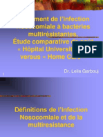 Traitement a Domicile Des Infections Nosocomiales PP 2004