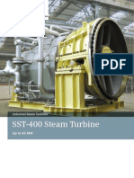 Siemens Industrial Steam Turbine SST 400 Brochure