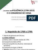 A Era Napolec3b4nica 1799 1815