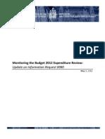 Monitoring the Budget 2012 En