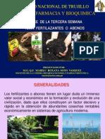 Fertilizantes y Abonos por Q.F. Marilú Roxana Soto Vásquez