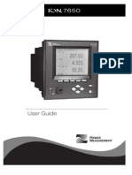 Power Logic ION 7550 7650 User Guide 082004