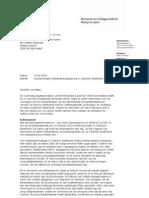 Kamerbrief Over Implement a Tie Euthanasieregelgeving in Caribisch Nederland