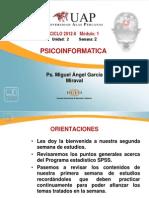 AYUDA DIDACTICA 2 PSICOINFORMATICA