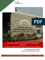 EGMP 25 Brochure